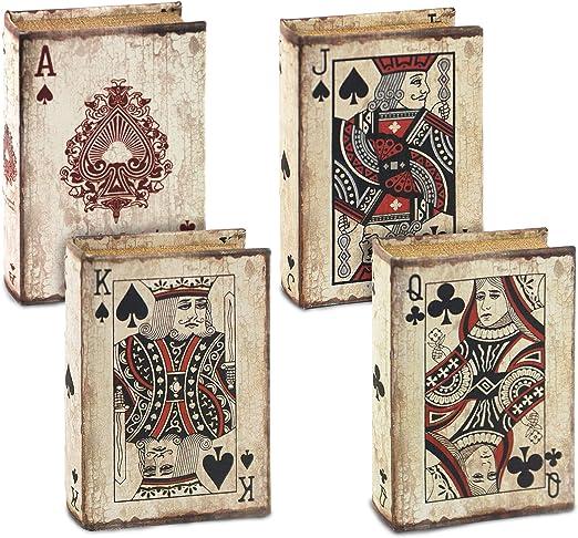 Signes Grimalt – Caja en Forma de Libro con Juego de Cartas (1 ...