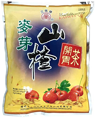 Sprouted Barley Hawthorn Berry Chinese Herbal Instant Tea