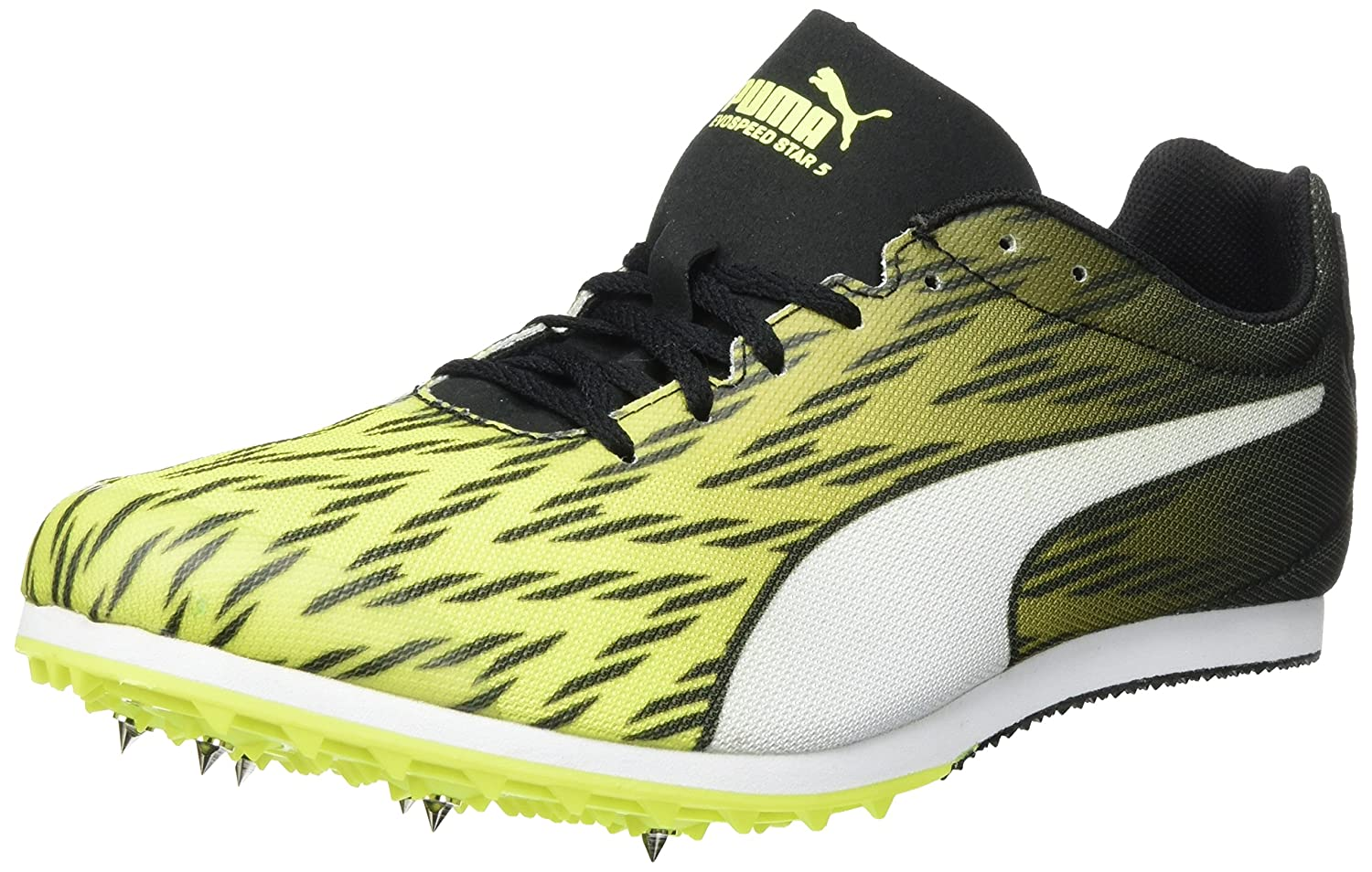 Puma Evospeed Star 5, Zapatillas de Entrenamiento para Hombre 48.5 EU|Amarillo (Safety Yellow-puma Black-puma White 03)