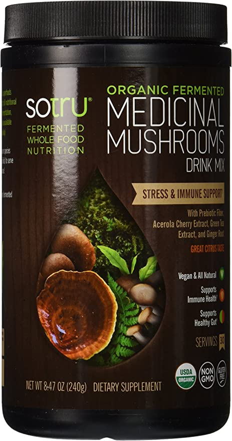 SoTru Medicinal Mushrooms Drink Mix
