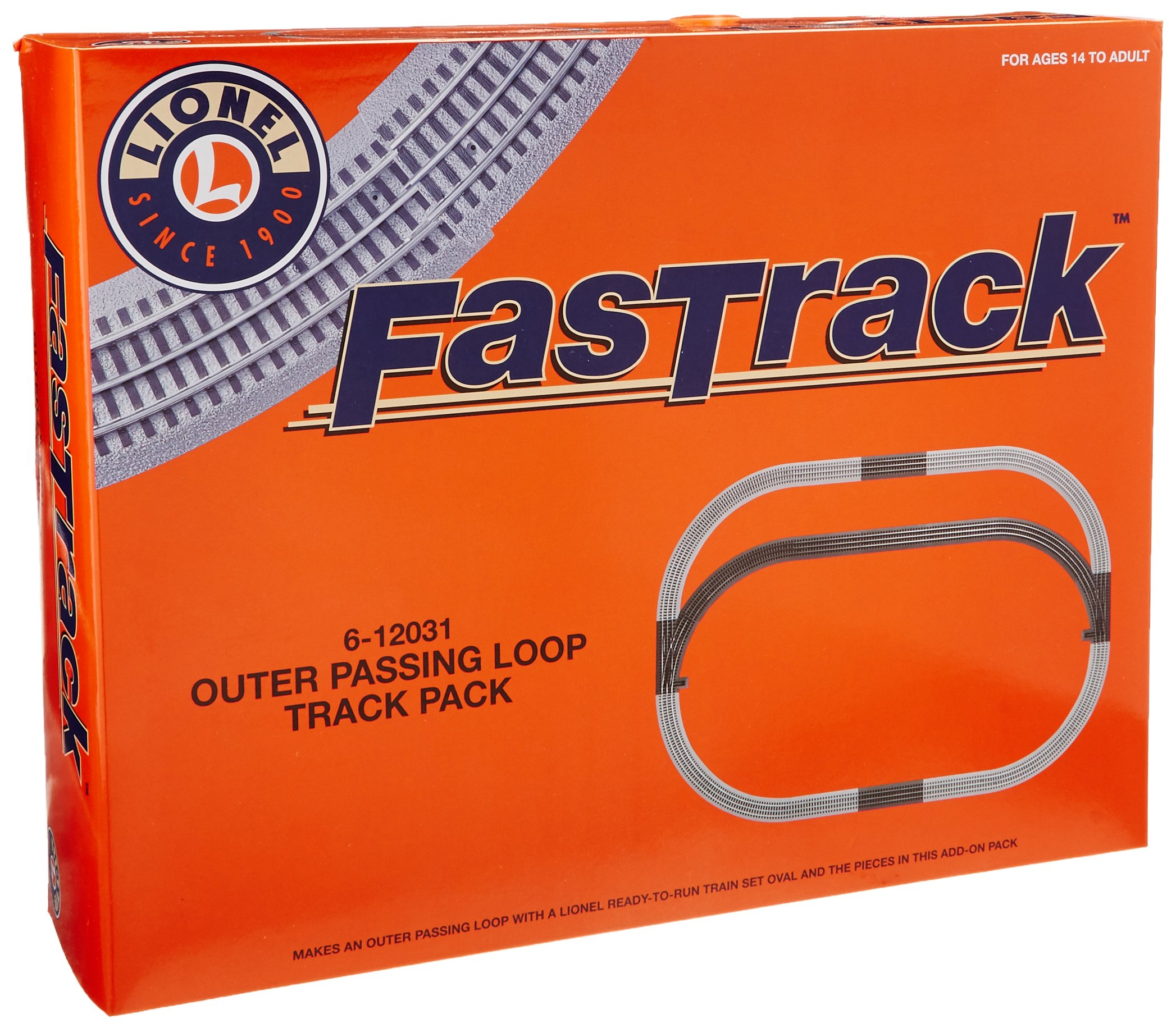 Lionel FasTrack Outer Passing Loop Add-on Pack