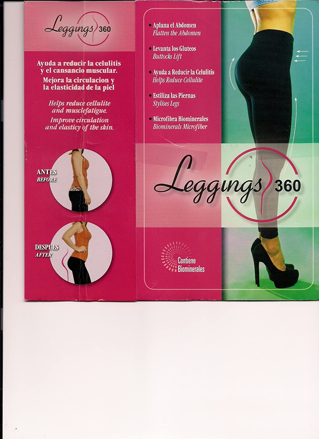 LEGGINS 360. WITH BIOMINERALS.