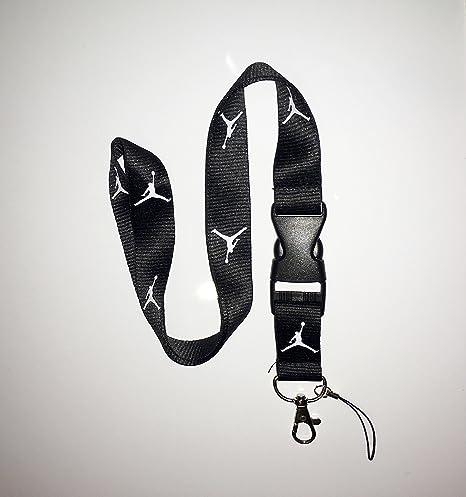 ENTREGA GRATUITA* Nuevo Negro Jordan cinta para llaves, ID ...