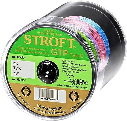 Schnur STROFT GTP Typ S Geflochtene 100m Gelbgr/ün S6-0.280mm-16kg