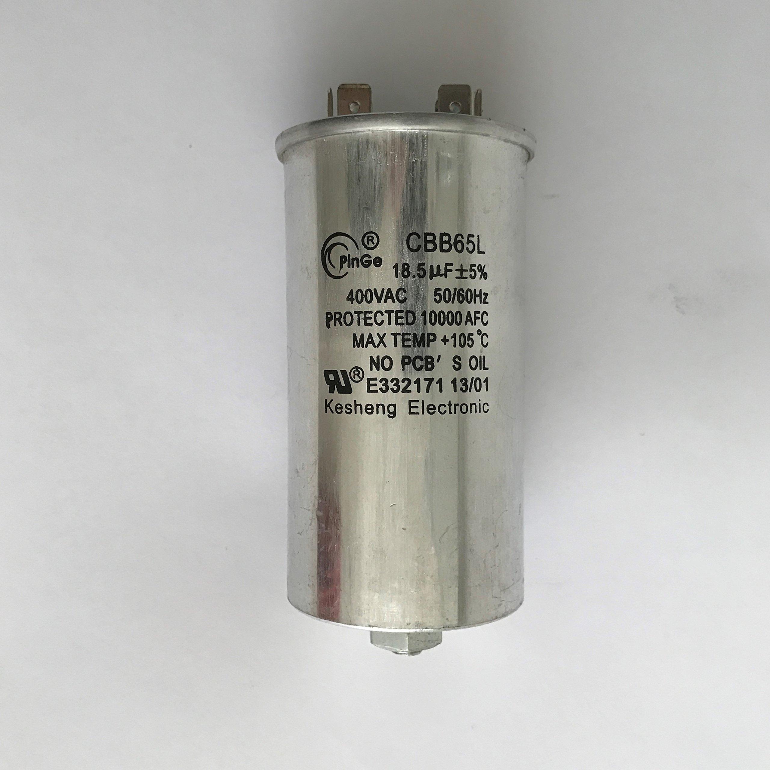 Capacitor 18.5uF/400VAC 120-480 Volt for Metal Halide 250 Watt-PS (1 Piece)