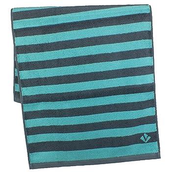 Vossen Bath Towels, 100% Cotton, Sunrise Capriblue, 2 Handtücher 50 X 100