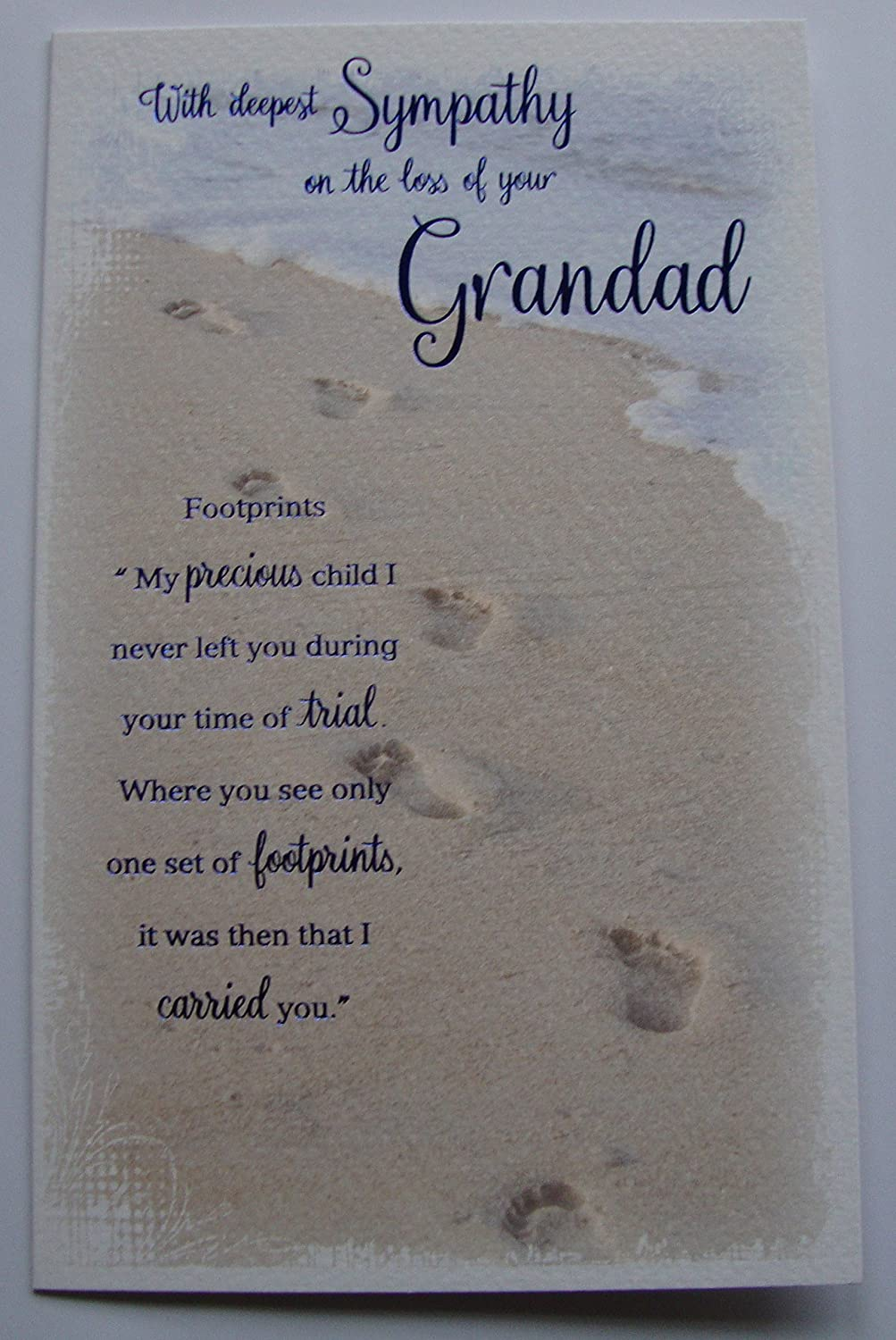 On the loss of your Grandad