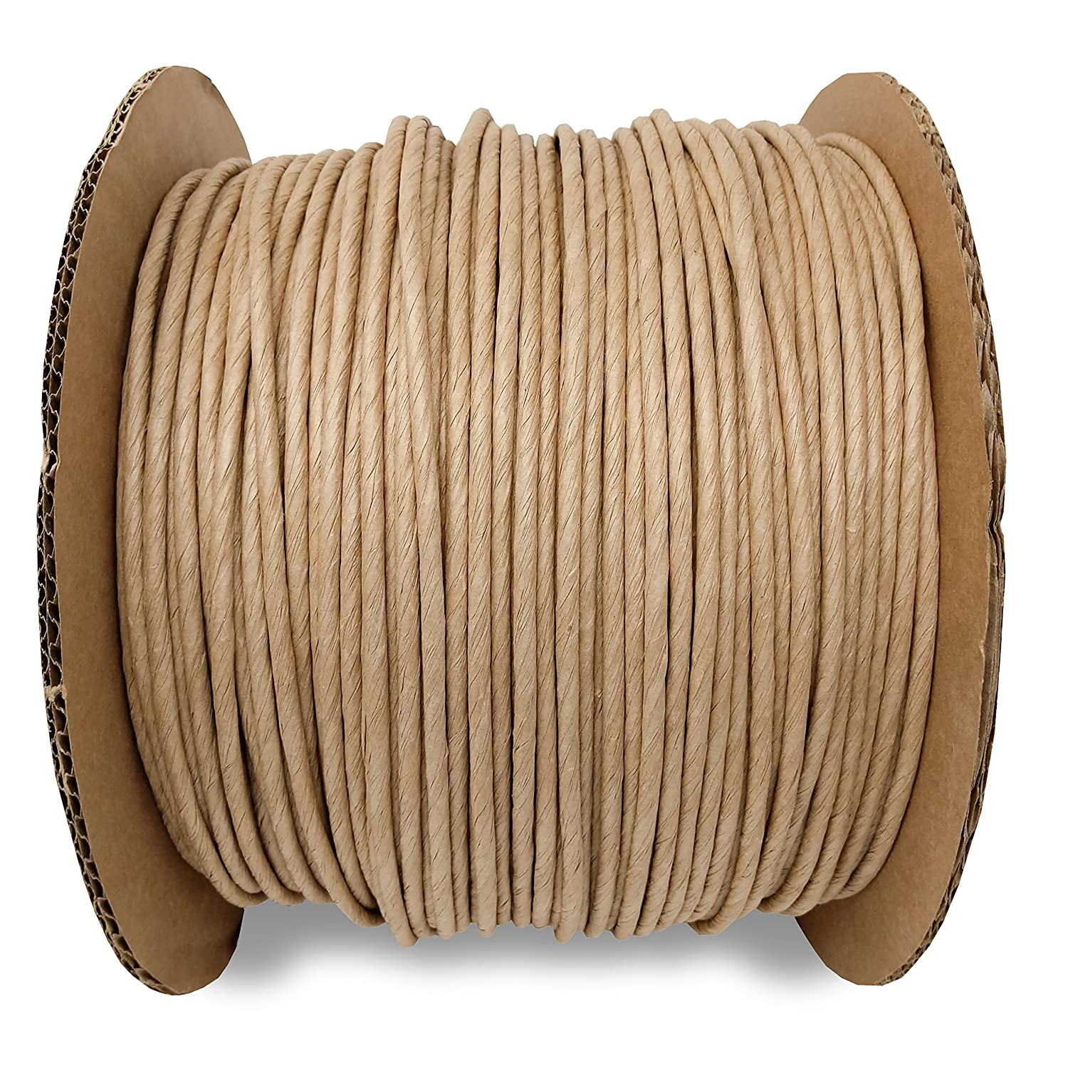 5/32 Fiber Paper Rush Spool Reel, 1,700ft Kraft Brown for Craft Weaving Chairs Ladderbacks Wholesale Upholstery Supply