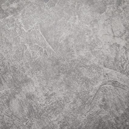 D Stained Concrete Cement Look Wallpaper Textured Slate Gray Wallpaper Unpasted For Living