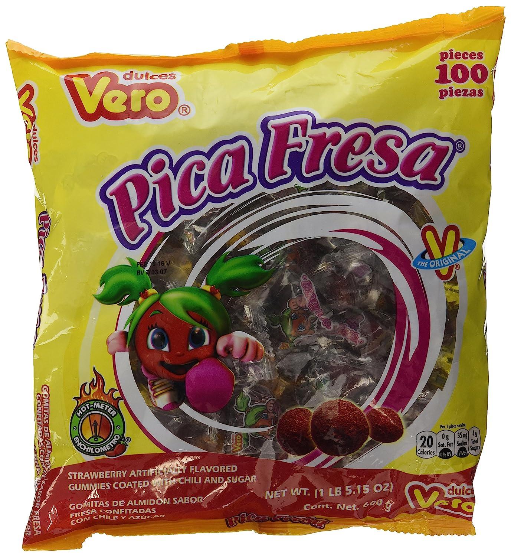 Pika fresas strawberry flavored