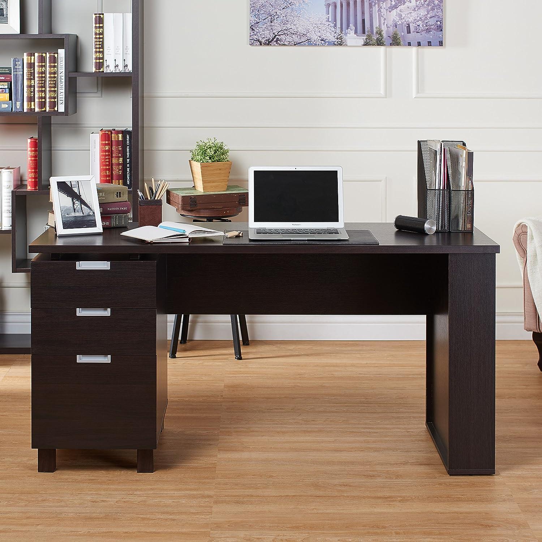 amazon com maxwell file cabinet computer desk with 2 exterior rh amazon com computer desk with file cabinet and hutch small computer desk with file cabinet