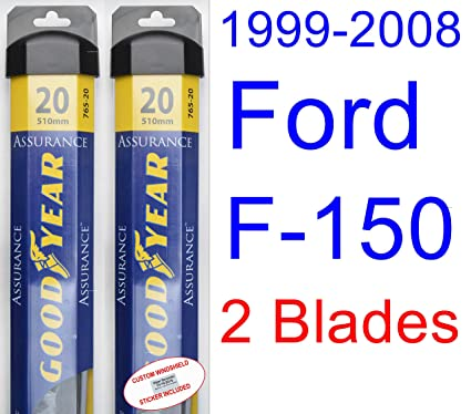 Amazon Com 1999 2008 Ford F 150 Replacement Wiper Blade Set