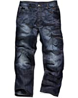 Scruffs Trade Denim Jeans Work Trouser Pants Knee Pad
