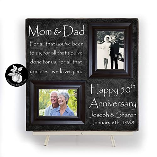 50th Anniversary Gifts for Parents 50th Anniversary Gifts Parents Anniversary Gift 50th Wedding Anniversary Gifts 50 Anniversary Gift