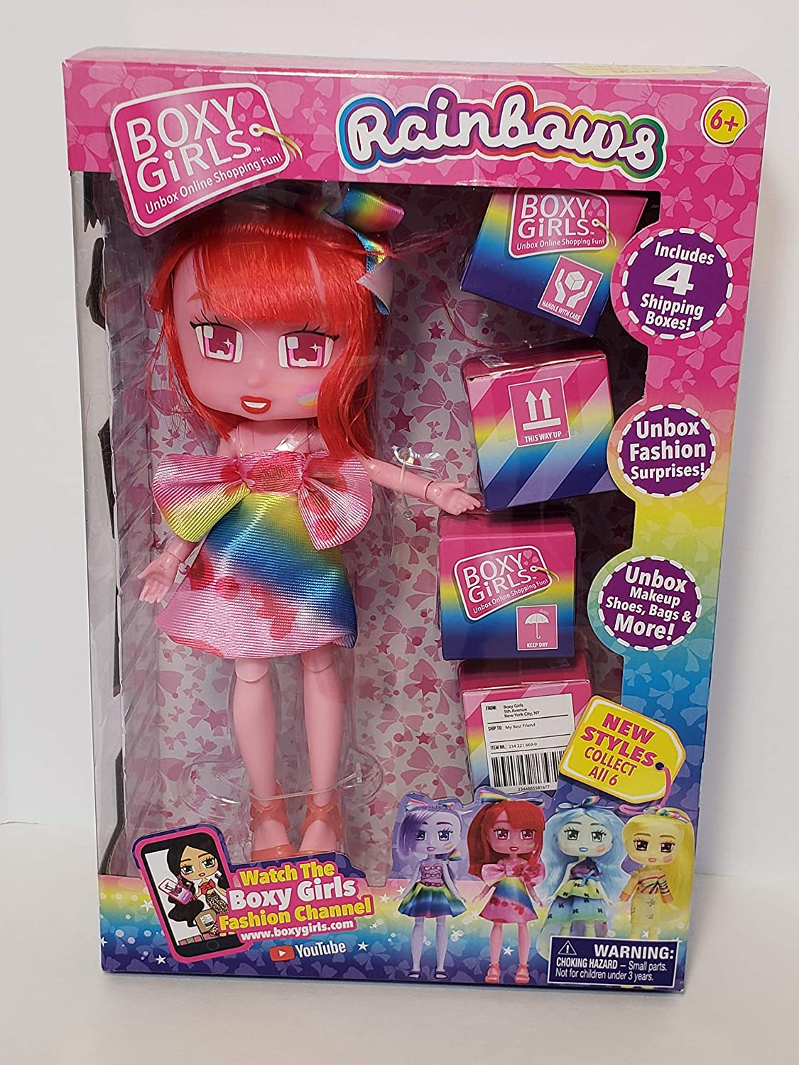 Boxy Girls - Rainbows Limited Edition - Rosie