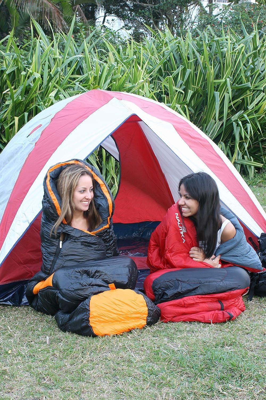 Amazon.com : NTK Viper Synthetic 1 Season Sleeping Bag Black Navy, Hybrid Shape (Mummy/Envelope) Camping, Backpacking, Hiking Black/Navy.