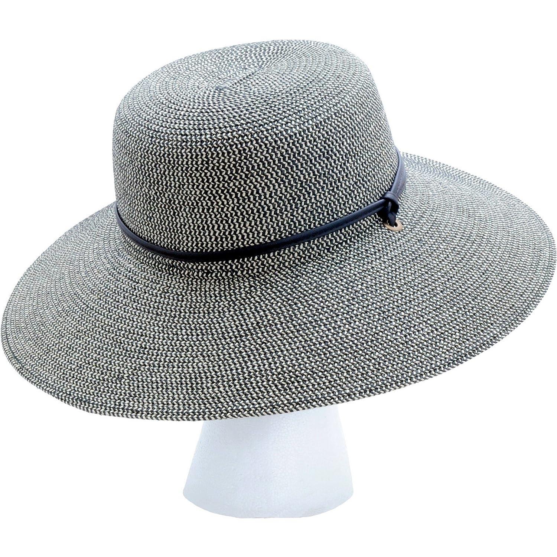 b53d3a2be6080 Amazon.com  Sloggers Women s Wide Brim Braided Sun Hat with Wind Lanyard -  Sage - UPF 50+ Maximum Sun Protection