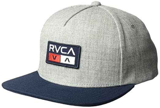 Amazon.com  RVCA Men s Duel Snapback HAT ad1b7aeae69