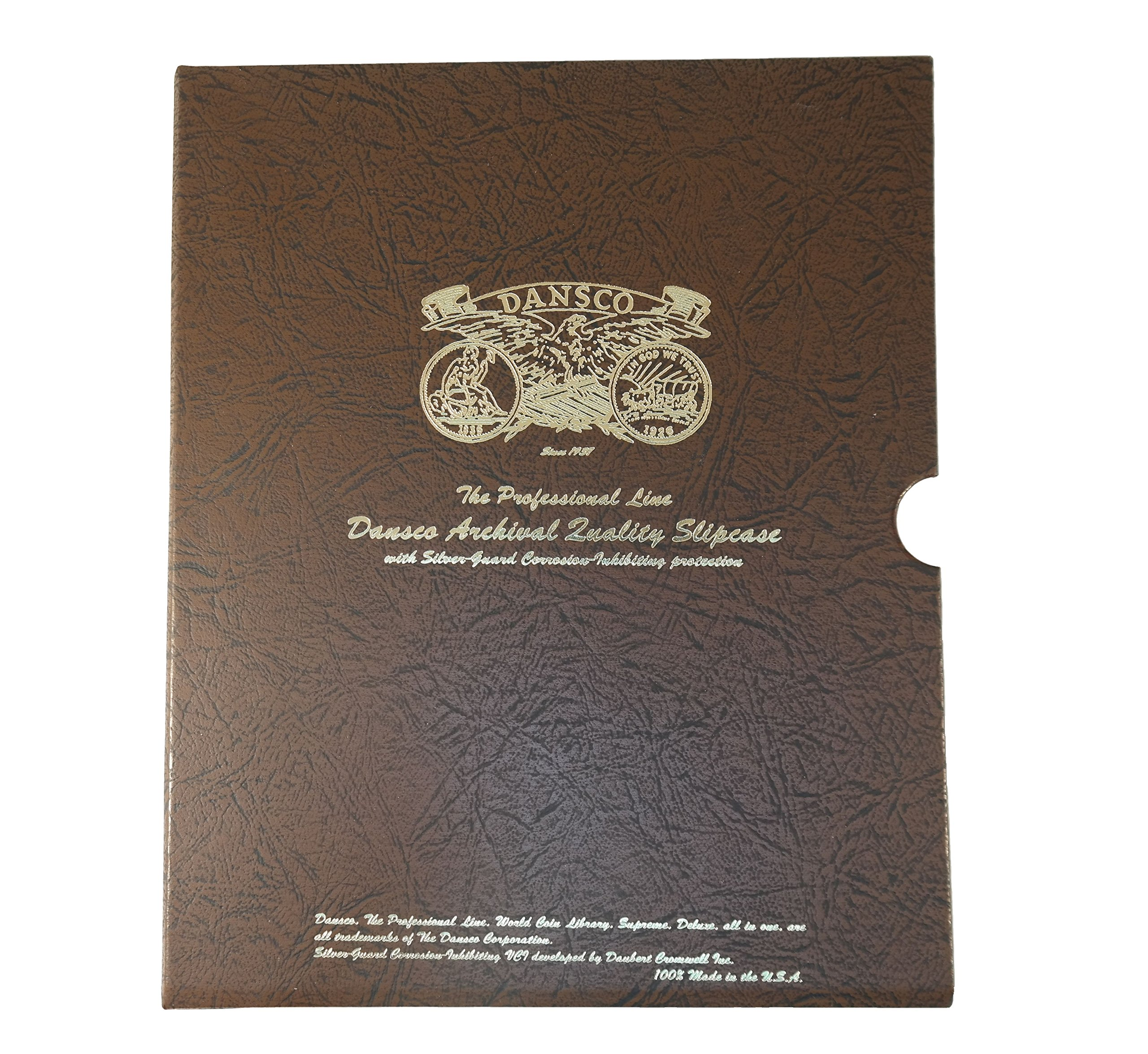 """CORROSION-INHIBITING 1 1//8/"""" SLIPCASE FOR DANSCO COIN ALBUMS"""