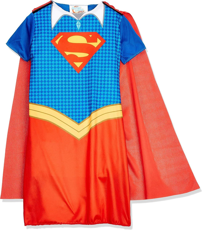 DC Comics - Disfraz de Supergirl oficial para niña, infantil 7-8 ...