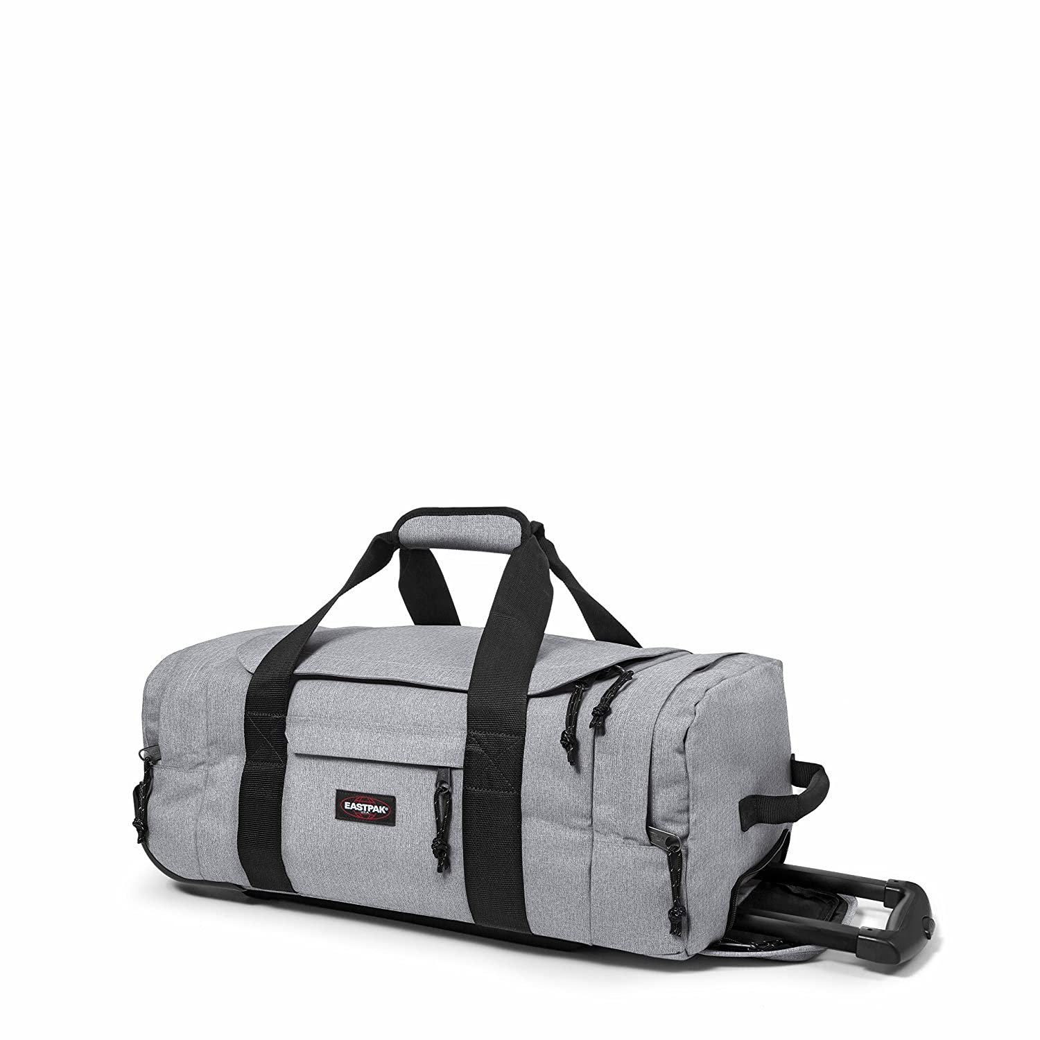 Eastpak Leatherface S Wheeled Luggage 38 L Sunday Padded Pakamp039r Backpack Quilt Grey Sports Duffels