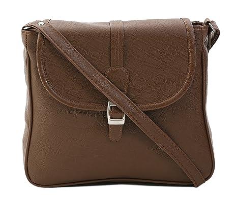 Felicita Women's Sling Bag (Brown,Felsb0005Brw): Amazon.in ...