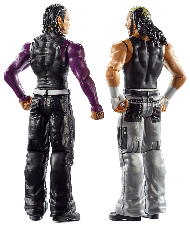 WWE Carmella /& James Ellsworth Action Figures 2-pack Mattel FMF82