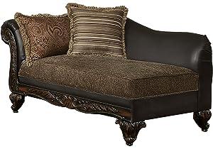Amazon.com: Meridian Furniture 675-CH Barcelona Leather ...