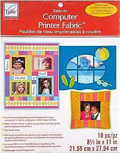 Computer Printer Fabric - 10 Pack
