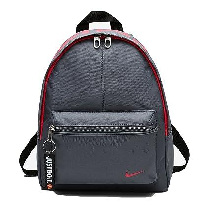 Nike y Classic Base Bkpk Mochila Unisex, Multicolor (Cool grey /Racer pink)