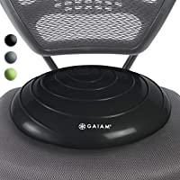$21 Get Gaiam Balance Disc Wobble Cushion Stability Core Trainer for Home or Office Desk Chair & Kids…