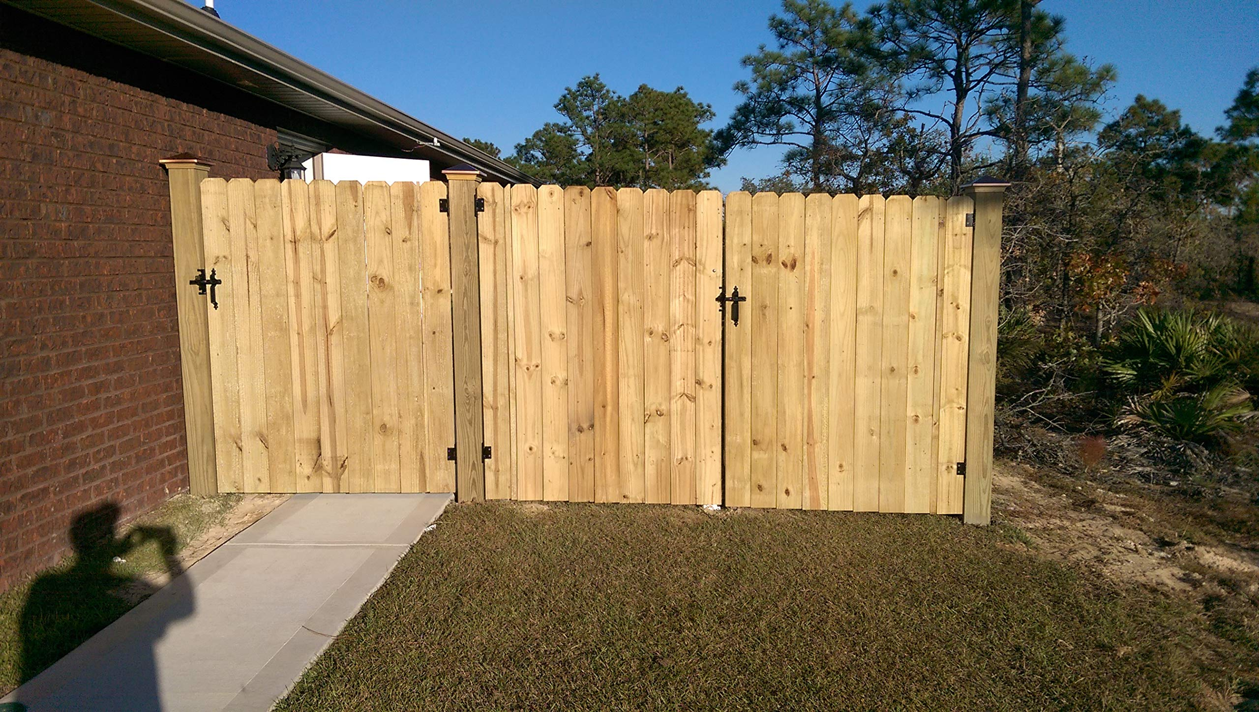 Universal Gate Hinge - Build A Wood Gate The Easy Way + You Can Choose Inward Or Outward Swing Direction - Build New Or Repair Existing Gates