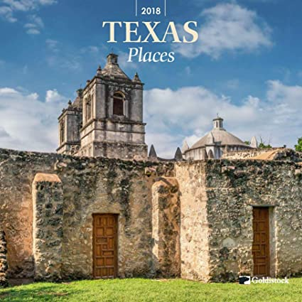 Superieur Goldistock U0026quot;Texas Placesu0026quot; Eco Friendly 2018 Large Wall Calendar    12u0026quot;