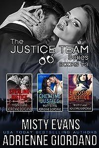 The Justice Team Romantic Suspense Series Box Set (Vol. 1-3)