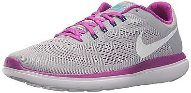 8c122b92d51 Nike WMNS Flex 2016 RN - Chaussures de Running Entrainement femme - Gris  (Grey 004