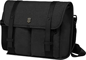 Victorinox Architecture Urban Lombard Laptop Briefcase, Black, 10.6-inch