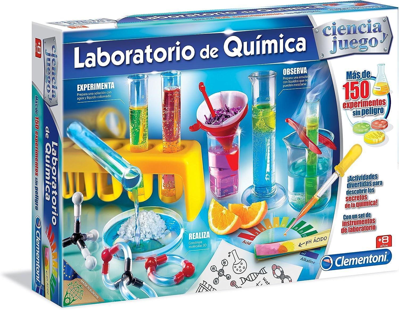 Clementoni - Laboratorio de Química, juego educativo (550821 ...