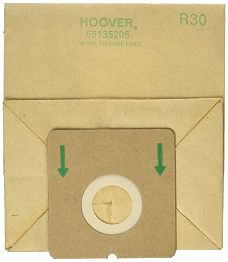Amazon.com: Hoover Bolsa de papel, de riego con 1 Secundaria ...