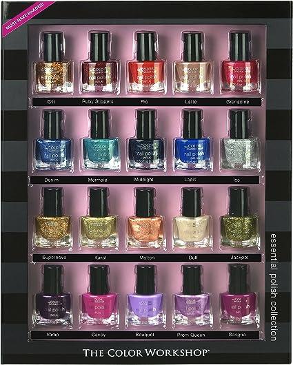 Markwins - Pack de 20 esmaltes de uñas: Amazon.es: Belleza