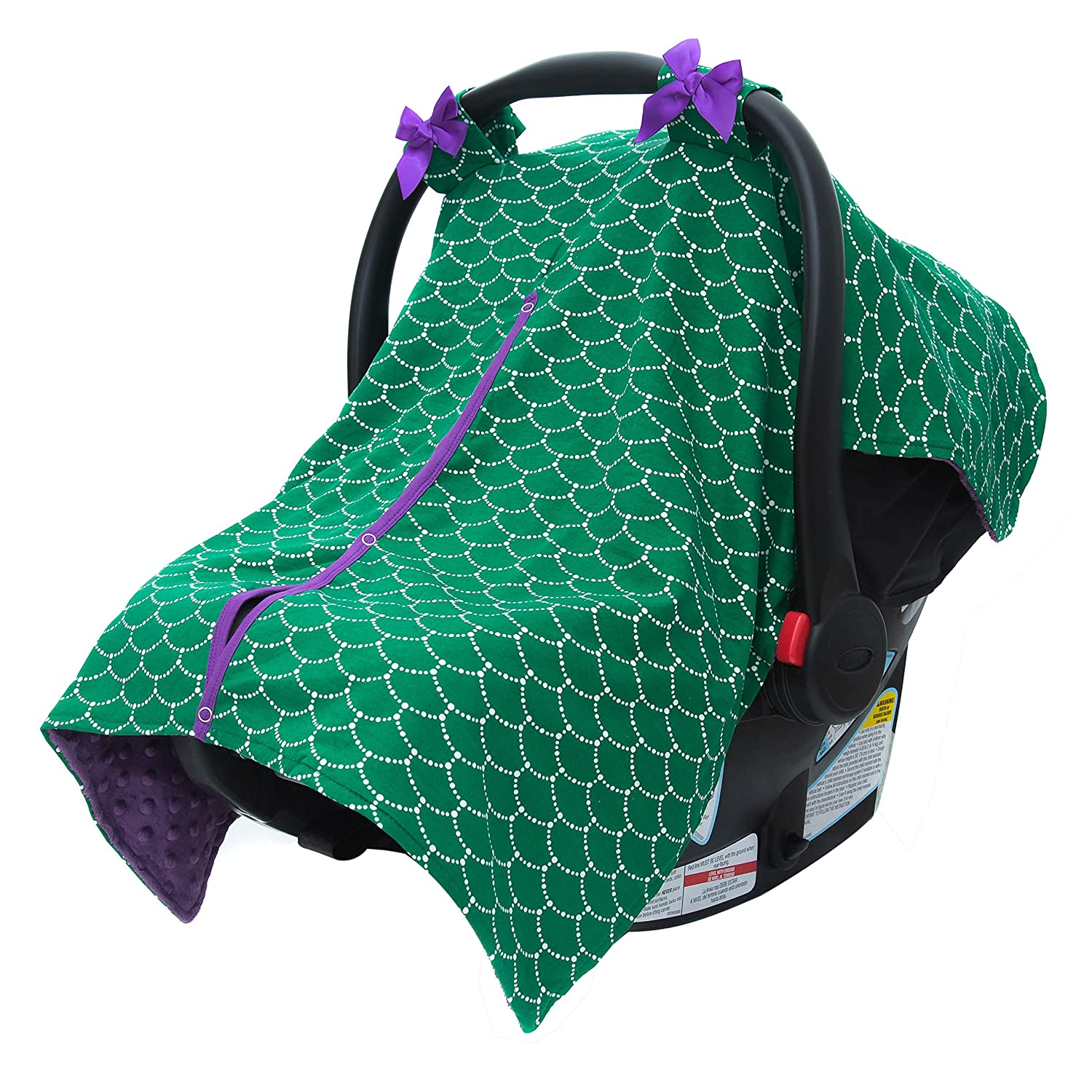 Amazoncom Jlika Baby Car Seat Canopy Cover Infant Canopy Cover