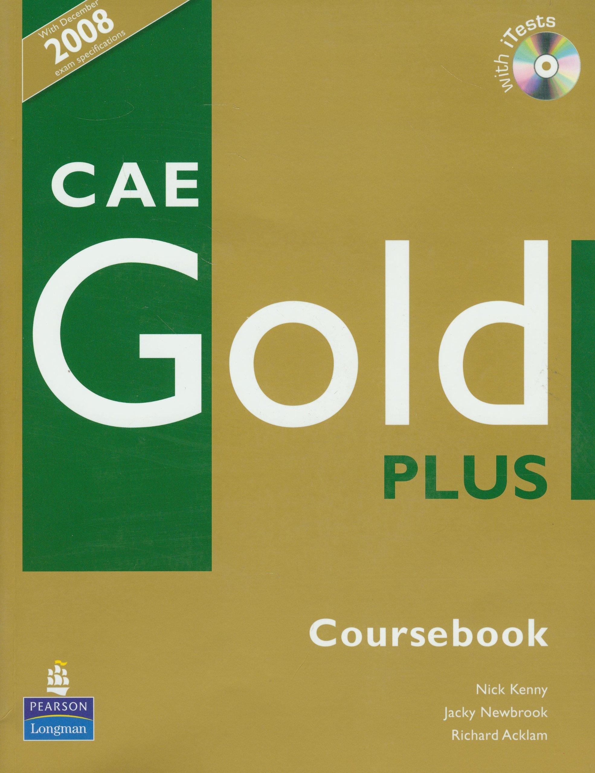 CAE Gold Plus Coursebook
