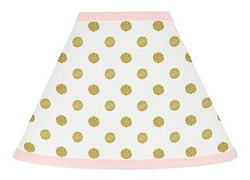 Amazon sweet jojo designs baby girl childrens lamp shade for sweet jojo designs baby girl childrens lamp shade for blush pink white damask and gold polka aloadofball Images