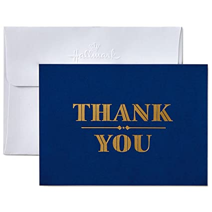 54752eba83be Amazon.com  Hallmark Thank You Cards