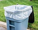 Plasticplace 65 Gallon Trash Bags │ 1.5 Mil
