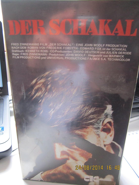 Der Schakal [Alemania] [VHS]: Amazon.es: Fox, Edward, Alexander ...
