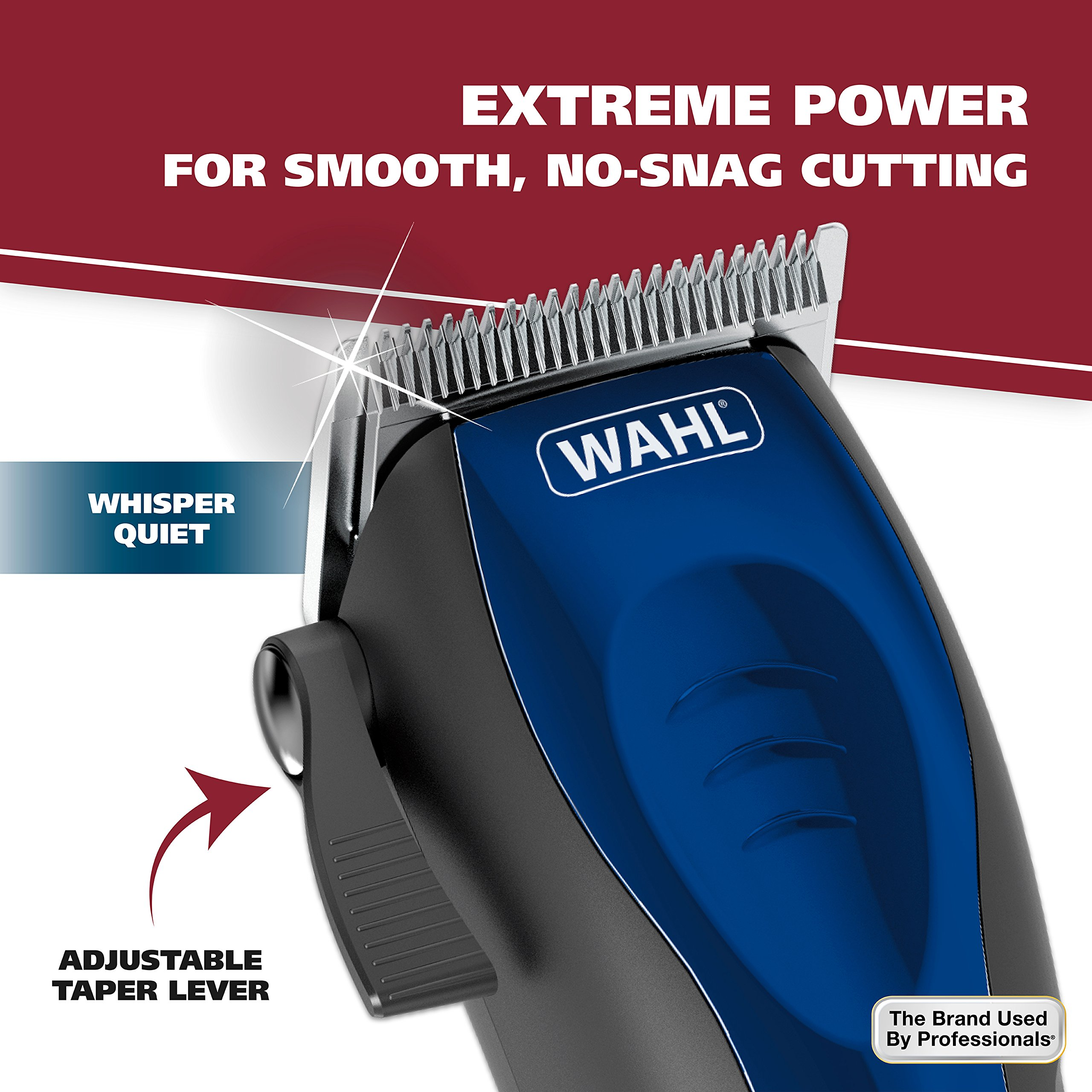 Wahl Clipper Self-Cut Haircutting Kit 79467 Compact Trimming and Personal Grooming Kit by WAHL (Image #5)