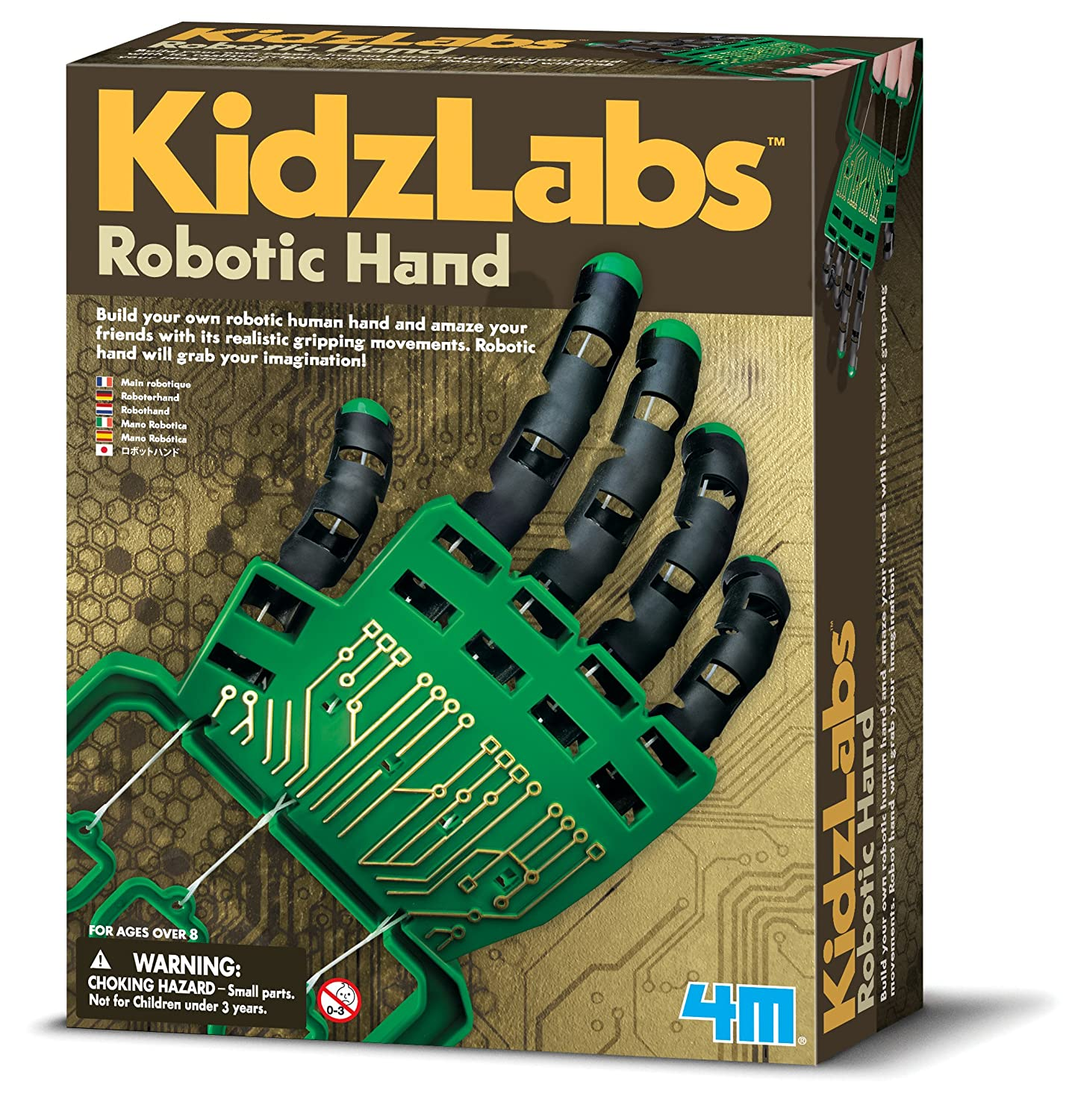 4m Robotic Hand Kit Toys Games Amp Wiring Car
