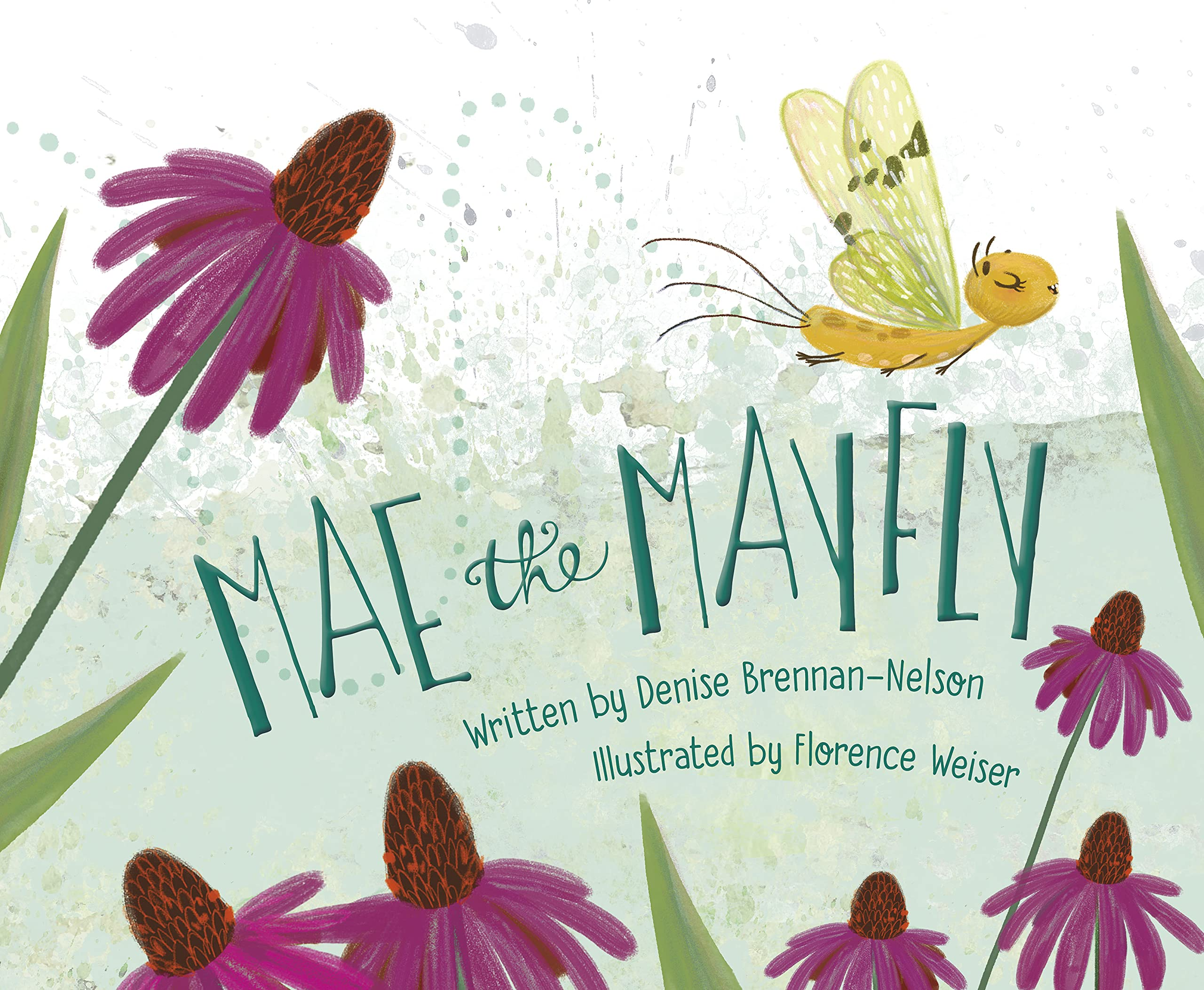 Mae the Mayfly: Brennan-Nelson, Denise, Weiser, Florence: 9781534110519:  Amazon.com: Books