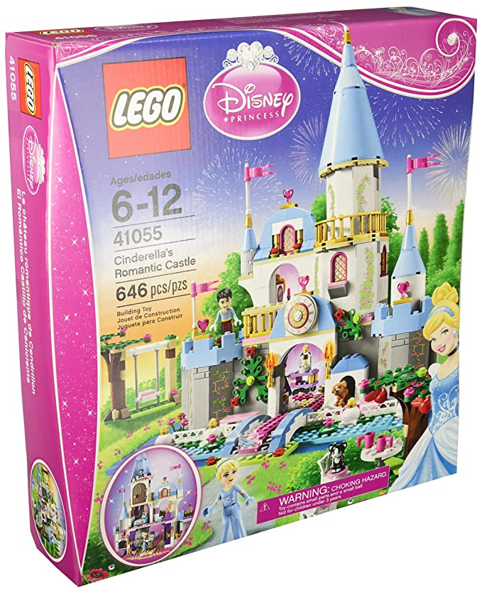 LEGO Disney Princess Cinderellas Romantic Castle 41055 by Disney: Amazon.es: Juguetes y juegos
