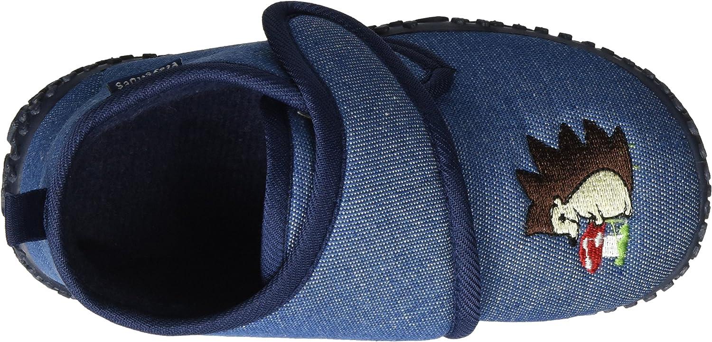 Playshoes Kinder schuhe mit praktischem Klettverschluss